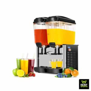 Rent Stuffs is the leading Powered Double Juice Dispenser rental service in Sri Lanka. We have range of beverage dispensers, juice machines for rent.