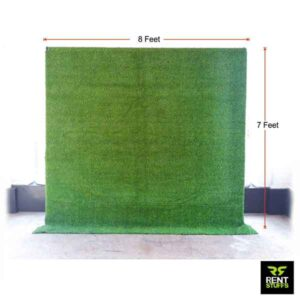 Grass Backdrop for Rent