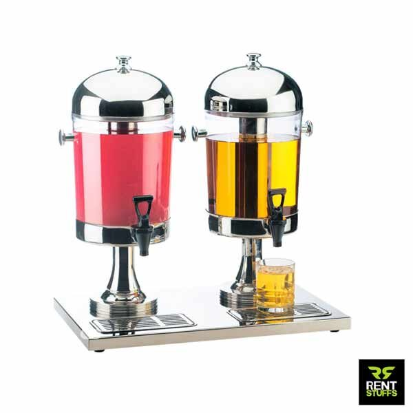 Ice Cold Double Juice Dispenser for Rent