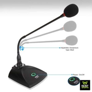 Podium Desktop Microphone for Rent