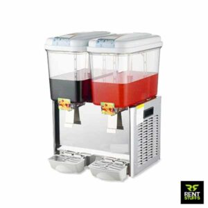 Powered Double Juice Dispenser for Rent
