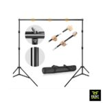 Tripod Backdrop Stand for Rent Green Cloth