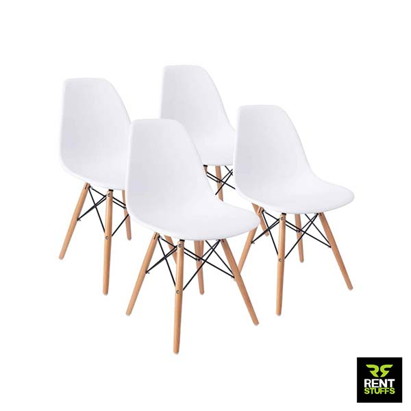 White Chair for Rent in Sri Lanka for Events and Exhibitions