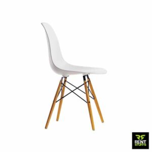 White Discussion Chair for Rent