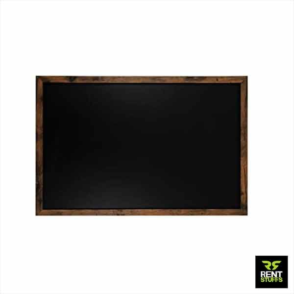 Black Board for Rent with Wooden Frame