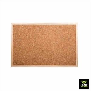 Cork Board for Rent with Wooden Frame