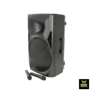 Rent Stuffs is the best place to rent portable Speakers with wireless FM microphones in Sri Lanka.