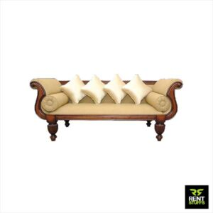 Wedding Couple Chair Divan Sofa for Rent Furniture