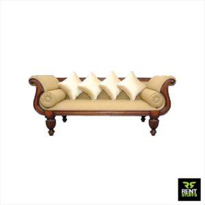 Wedding Couple Chair Divan Sofa for Rent Furniture
