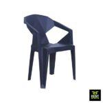 Black Plastic Chairs for Rent in Colombo, Sri Lanka