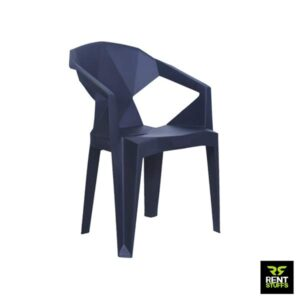 Black Plastic Chair for Rent in Colombo