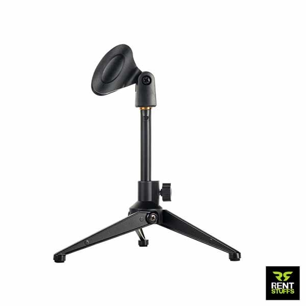 Desktop Mic Stand for Rent by Rent Stuffs