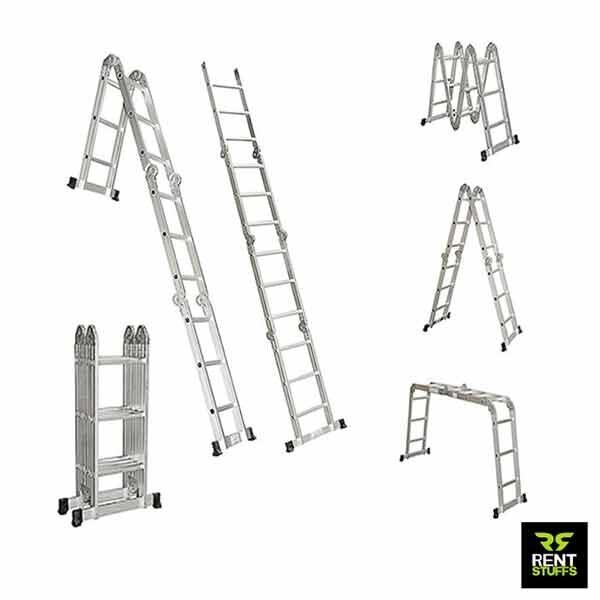 Multi Purpose Aluminum Ladder for Rent