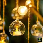 Glass Globe Hanging Candle Holder for Rent in Sri Lanka
