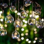 Glass Globe Hanging Candle Holders for Rent in Sri Lanka