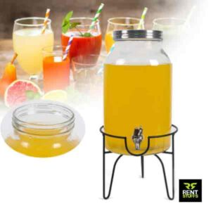 Glass juice dispenser for rent in Sri Lanka Rent Stuffs Colombo