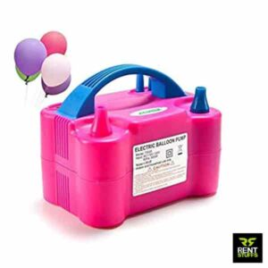 Balloon air pumps for rent in Sri Lanka