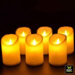 Rechargeable LED Candles for Rent