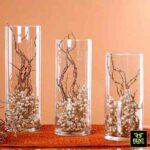 Glass Cylinder Vases for Rent in Sri Lanka by Rent Stuffs