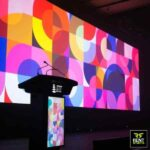 LED TV Display Podiums for Rent in Sri Lanka by Rent Stuffs