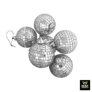Mirrored Glass Disco Balls for Rent in Sri Lanka by Rent stuffs