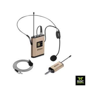 Uhf Wireless Headset Clip on Microphone for rent in Sri Lanka