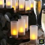 Led tea light candle with cover for rent in Sri Lanka