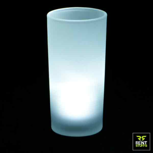 Led tea light candle with cover for rent in Sri Lanka by Rent Stuffs