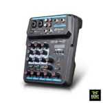 Bluetooth USB 4 channel Mixer for rent in Sri Lanka