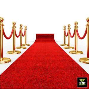 Red Wedding Carpet for Rent in Sri Lanka