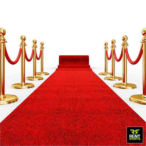 Wedding red Carpet Rent