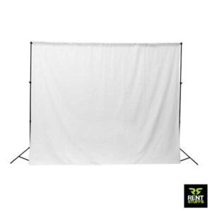 White Cloth Backgrounds for Rent