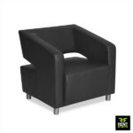 Rent Stuffs offers Black Lobby Chair for Rent in Colombo, Sri Lanka