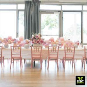 Banquet Chair for Rent in Colombo, Sri Lanka