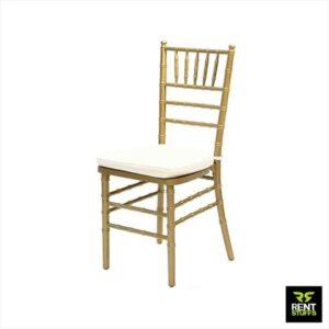 Gold Tiffany Chair for Rent in Sri Lanka