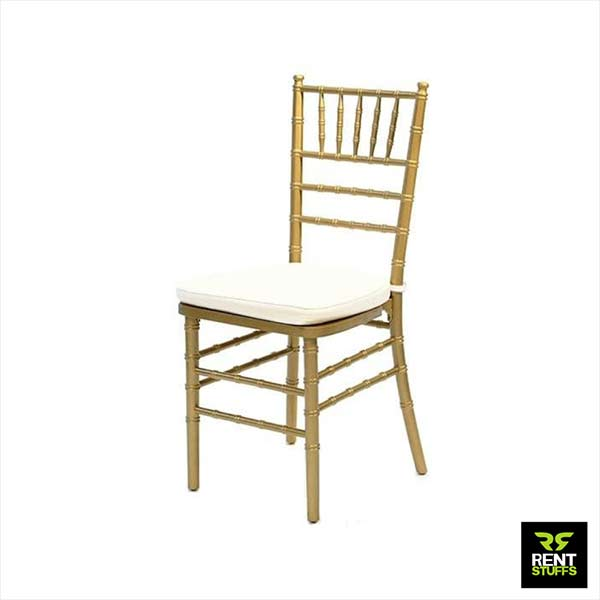 Gold Tiffany Chairs for rent in Sri Lanka