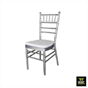 Rent Stuffs offers Silver Tiffany Chair for Rent in Colombo, Sri Lanka