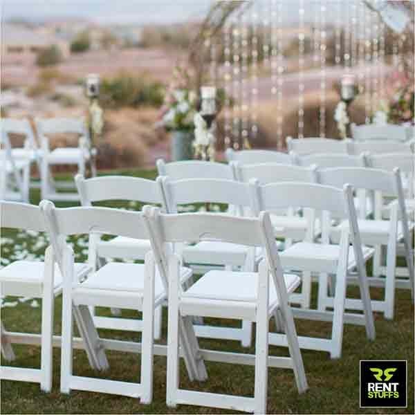 Wedding Wooden Folding Chairs for rent Sri Lanka